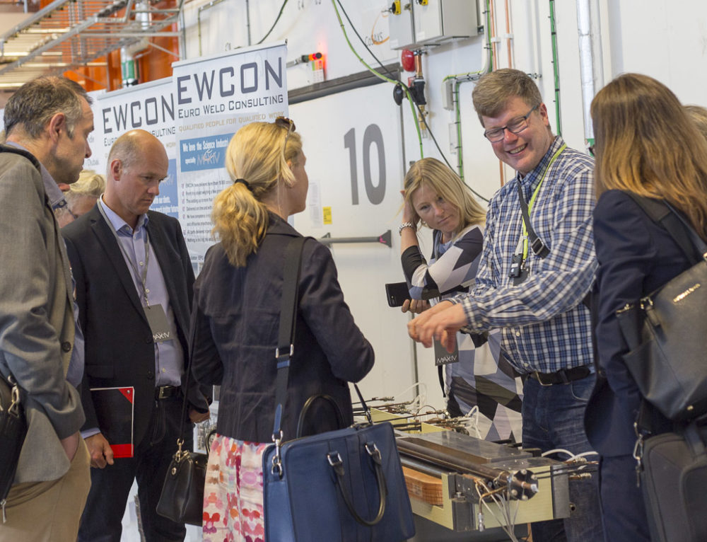 An impressive study visit to MAX IV and the ESS