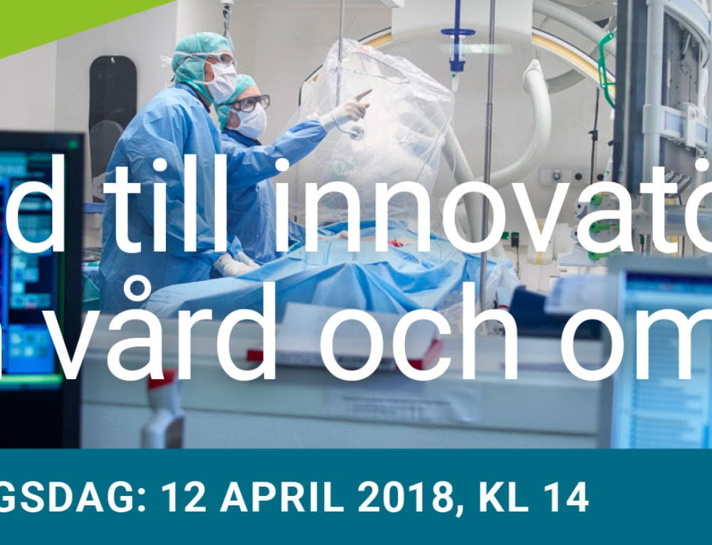 Utlysning: Stöd till innovatörer inom vård och omsorg 2018