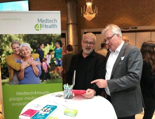 Medtech4health på plats på Östergötlands Ehälsodag den 9 november