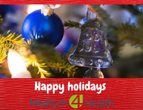 God jul och julstängt på Medtech4Health