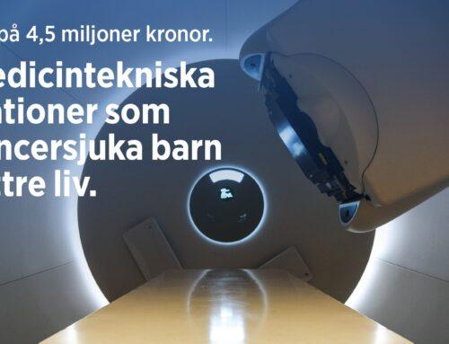 Utlysning på 4,5 msek: Medicintekniska innovationer som ger cancersjuka barn att bättre liv – sista ansökningsdag 27 augusti.