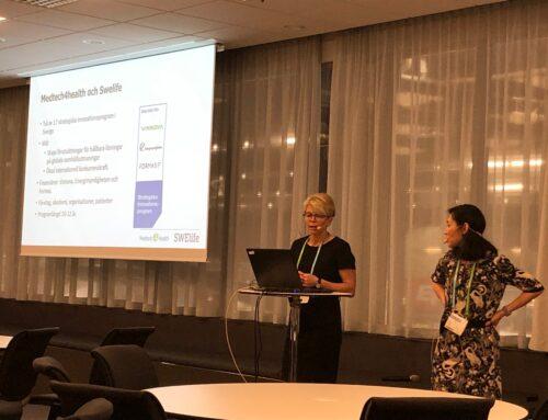 Medtech4health och Swelife presenterade utlysningar på Vitalis