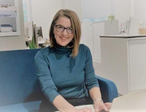 Äntligen är vår nya kommunikatör Magdalena på plats!