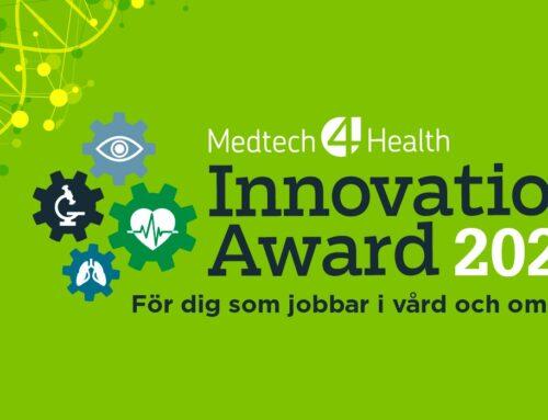 Och finalisterna i Medtech4Health Innovation Award 2020 är….